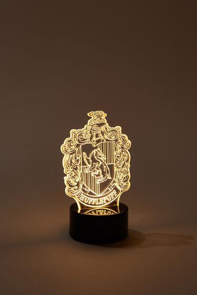 Mini Acrylic Light, LCN WB HP HUFFLEPUFF