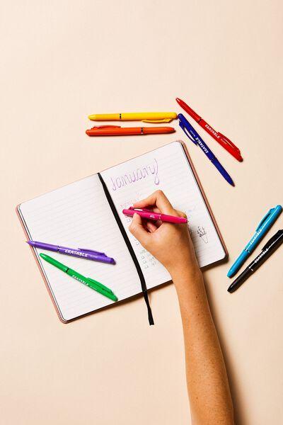Erasable Gel Pen, PINK