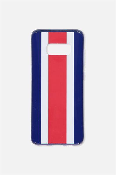 Phone Cover S8, NAVY STRIPE