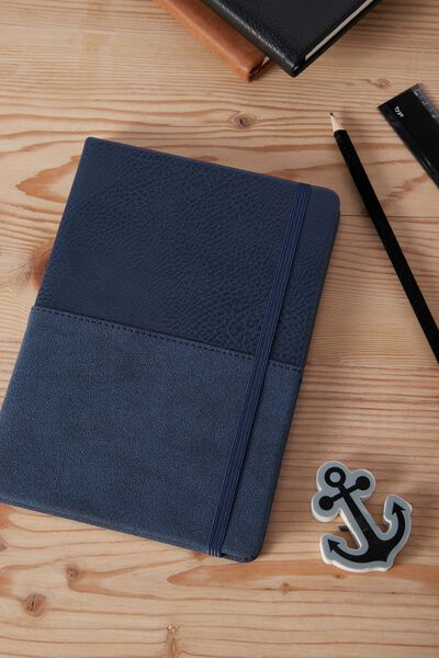 Medium Buffalo Journal, NAVY TWO TONE