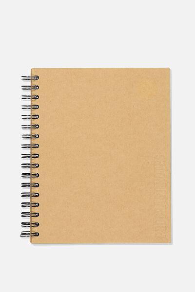 Ultimate Spiral Notebook, CRAFT