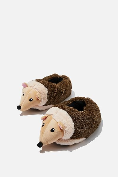 Novelty Slippers, HEDGEHOG