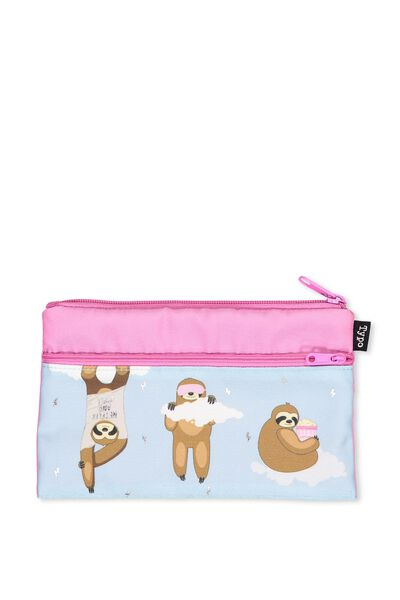 Archer Pencil Case, WHY I LIKE SLOTHS BETTER THAN PEOPLE