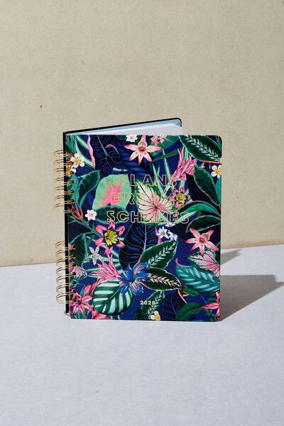 2020 Ultimate Planner, RESORT FLORAL