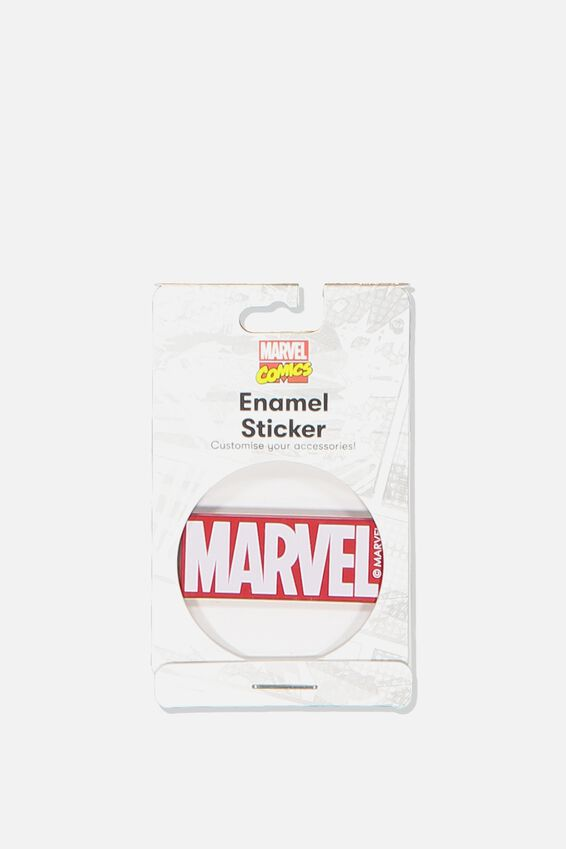 Marvel Enamel Sticker, LCN MAR MARVEL LOGO