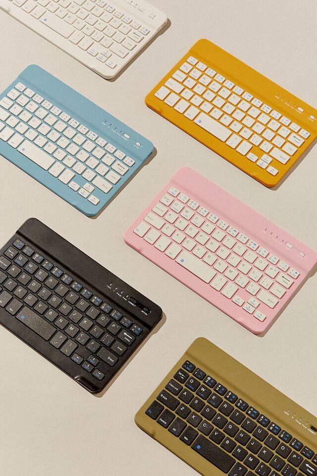 Oh Shift Wireless Keyboard, DENIM BLUE
