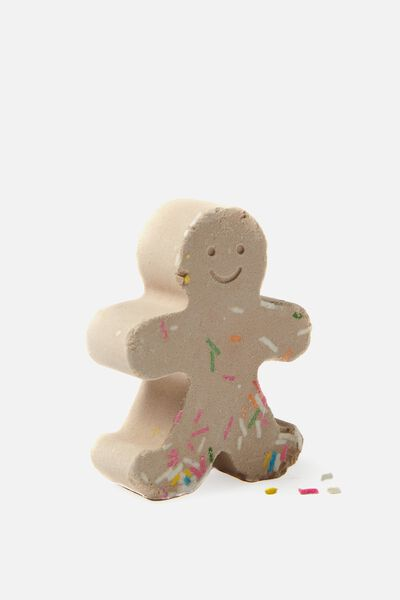 Bath Fizzer, GINGERBREAD MAN