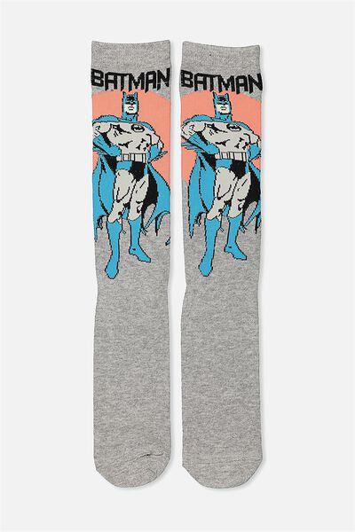 Mens Novelty Socks, LCN BATMAN MULTI