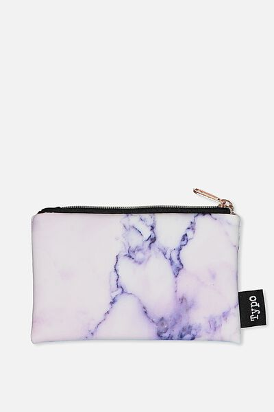 Campus Coin Purse, LUSH MARBLE