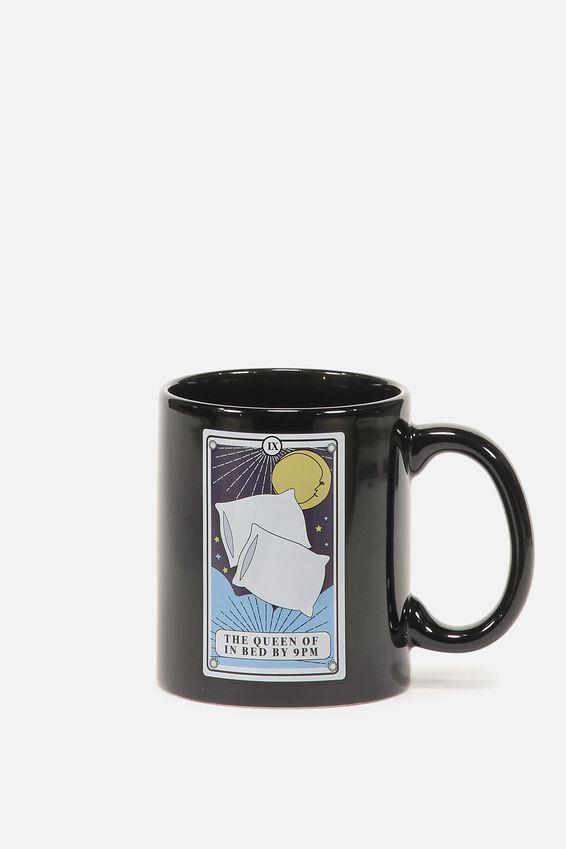 Anytime Mug, QUEEN IN BED TAROT