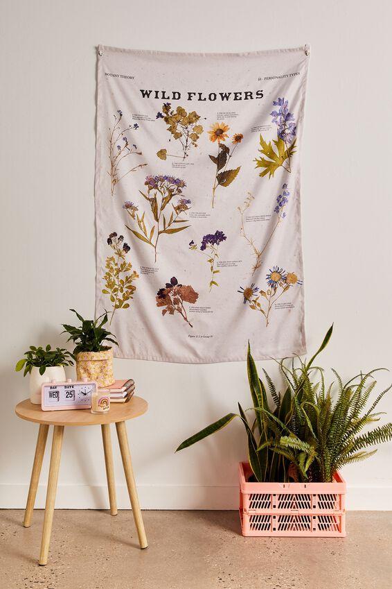 Wall Hangings, WILD FLOWERS