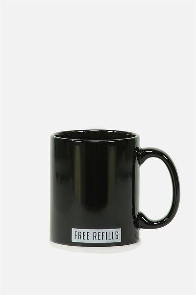 Anytime Mug, FREE REFILLS