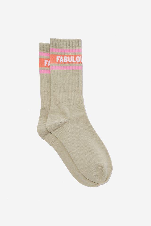 Socks, FABULOUS BITCH GREY!