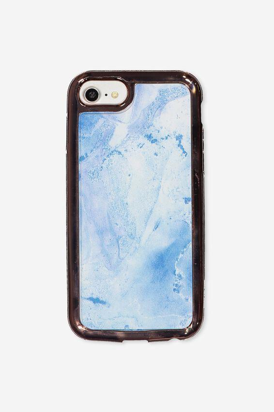 Superior Phone Case Universal 6,7,8, BLUE MARBLE