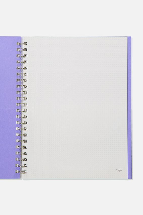 A4 Campus Notebook Dot Internal Recycled, CLOUD MANDALA