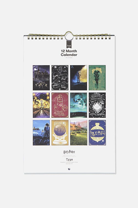 2020 Harry Potter Get A Date Calendar, LCN WB HARRY POTTER
