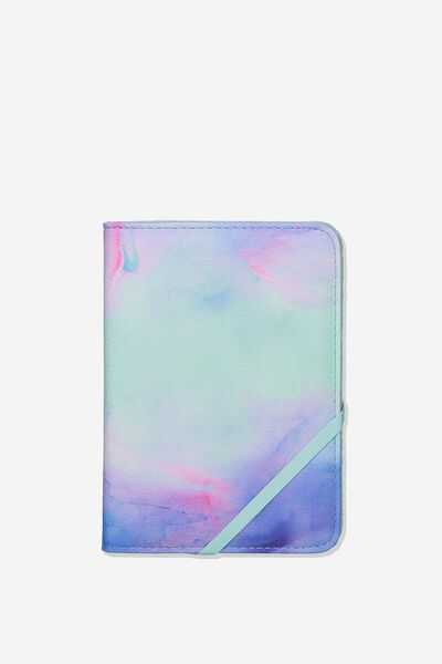 Rfid Passport Holder, PARADISE WATERCOLOUR