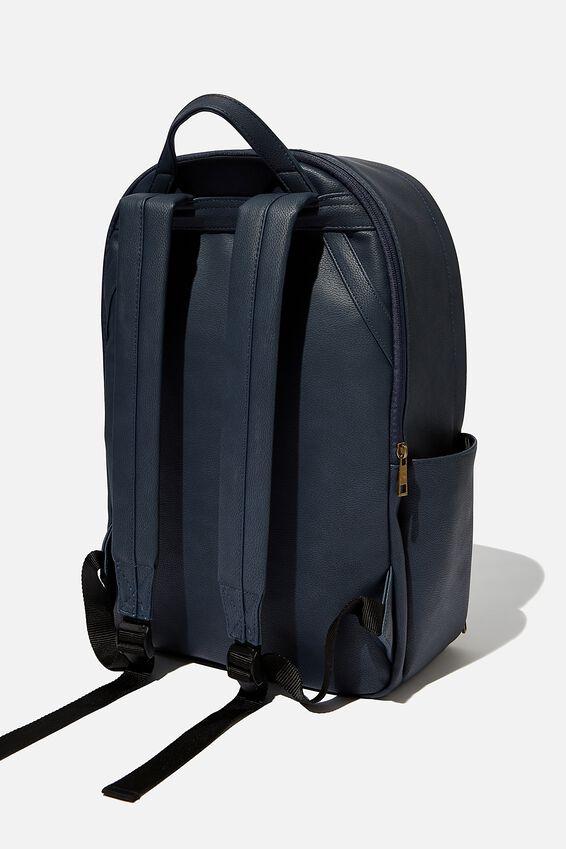 Personalised Formidable Backpack, NAVY WEAVE