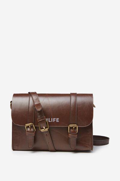 Mini Harry Bag Personalisation, MID TAN