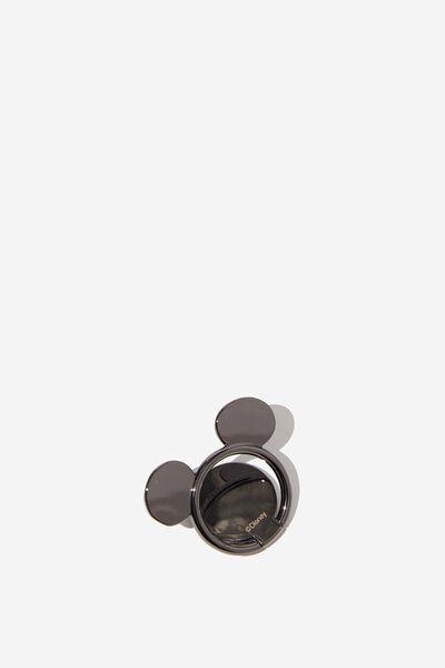 Licenced Metal Phone Ring, LCN DIS MICKEY HEAD