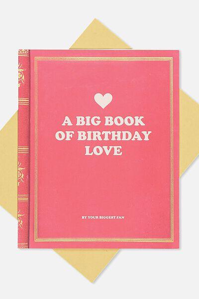 Nice Birthday Card, BOOK OF BIRTHDAY LOVE