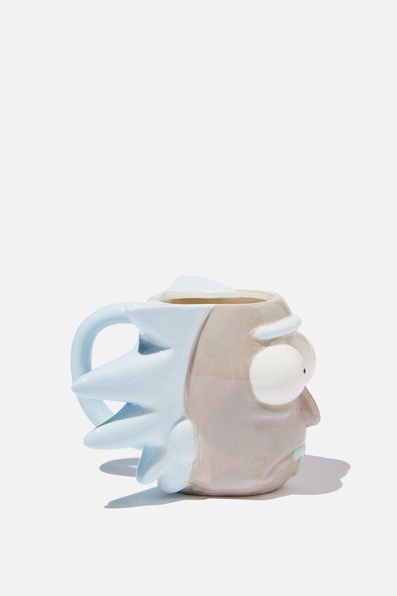 Novelty Shaped Mug, LCN CNW RM RICK