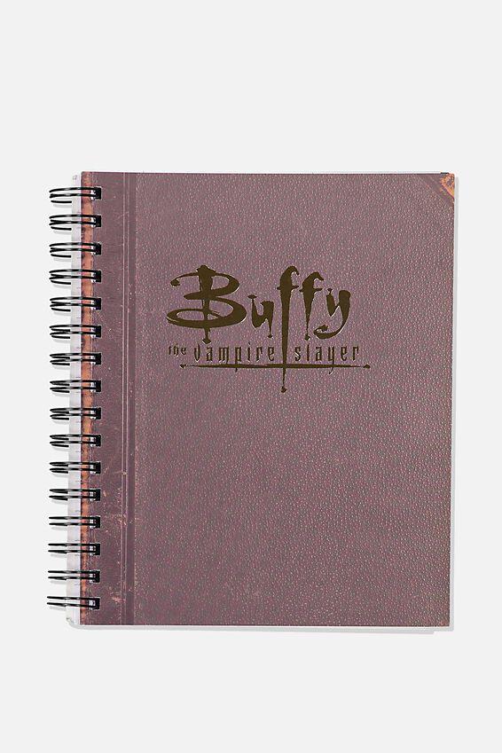A5 Buffy Campus Notebook -V, LCN FOX BU BUFFY