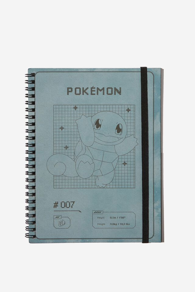A5 Spinout Notebook Recycled, LCN POK POKEMON SQUIRTLE