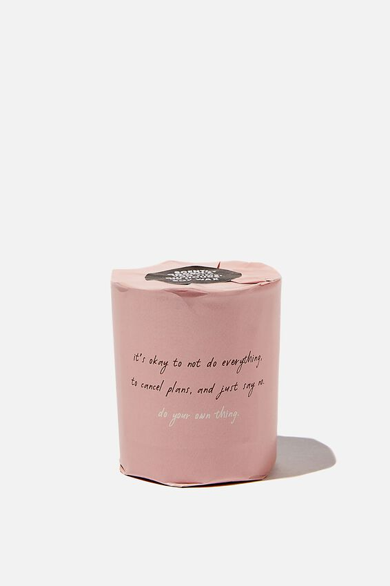 Talk To Me Candle Small, DO YOUR OWN THING