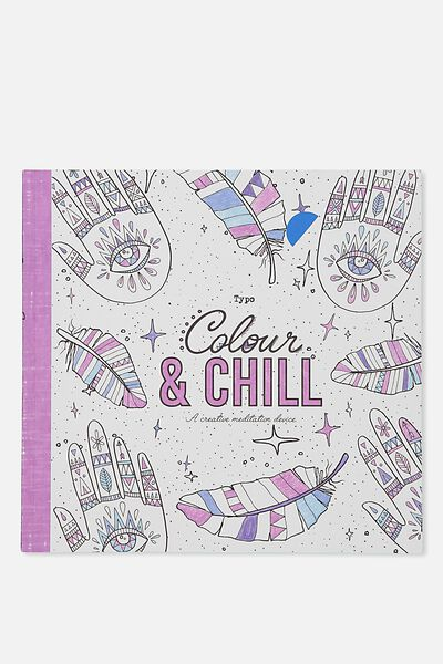 Between The Lines Colouring Book, NEW BOHO