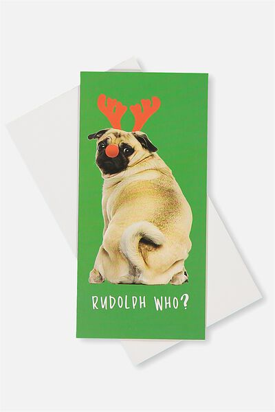 Gift Wallet, RUDOLPH WHO PUG
