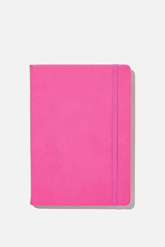 A5 Buffalo Journal, SHOCKING PINK