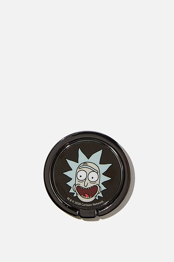 Rick & Morty Metal Phone Ring, LCN CNW RM RICK