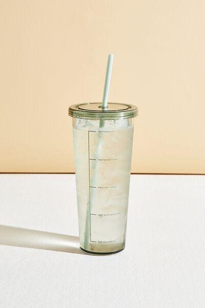 Sipper Smoothie Cup, GUM LEAF