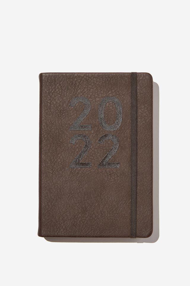 2022 A5 Daily Buffalo Diary, BITTER CHOC
