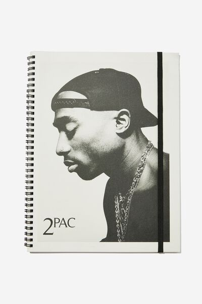 A4 Spinout Notebook Recycled, LCN BRA 2PAC COVER