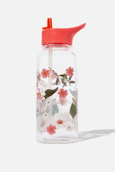 Drink It Up Bottle, FLORAL
