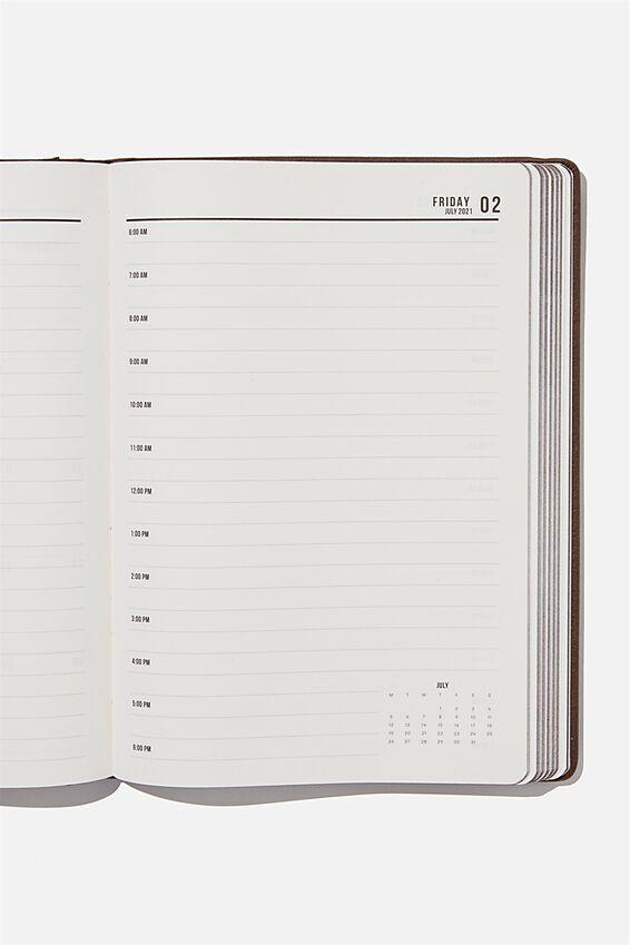 2021 A4 Daily Buffalo Diary, BITTER CHOC