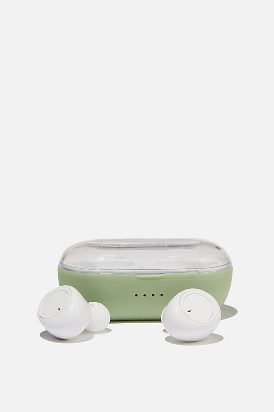 Wireless Earbuds, ALLY GREEN