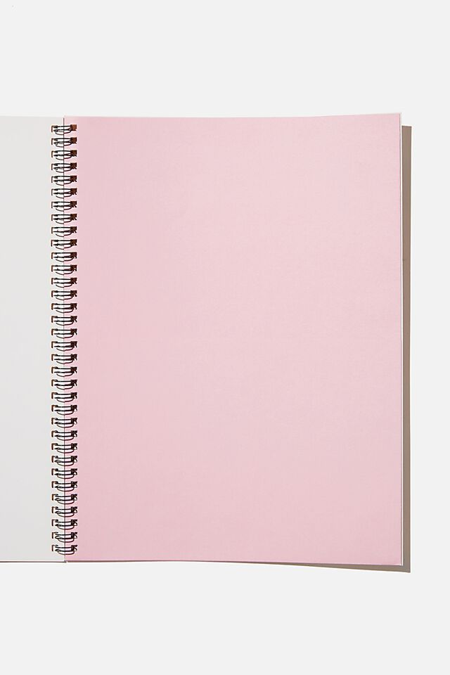 A4 Spinout Notebook Recycled, MUSTARD PLANT HOARDER