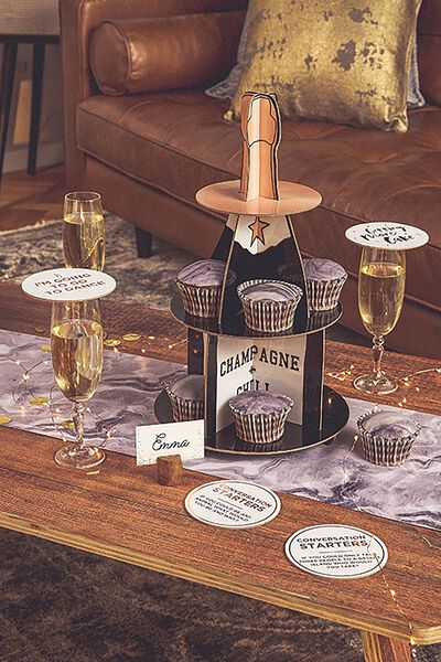 Cake Stand, CHAMPAGNE+CHILL