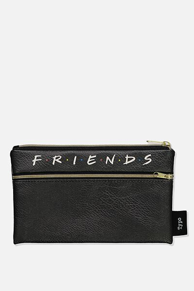 Archer Pencil Case, LCN WB FRI FRIENDS LOGO