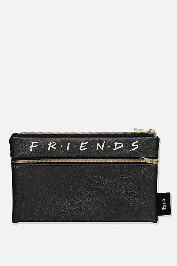 Friends Archer Pencil Case, LCN WB FRI FRIENDS LOGO