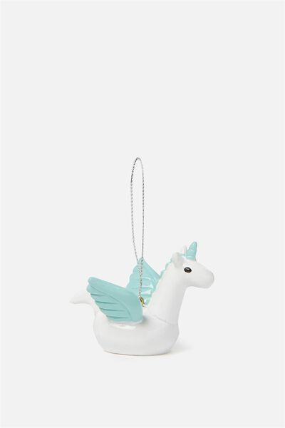 Christmas Ornament, PEGASUS FLOATIE