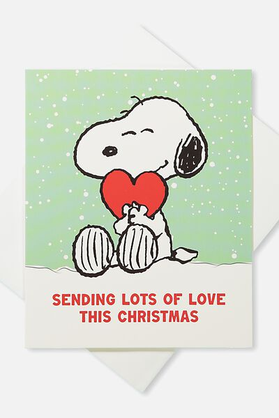 2018 Christmas Card, LCN LOTS OF LOVE