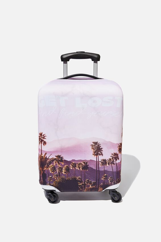 Suitcase Cover - Small, FIND YOURSELF