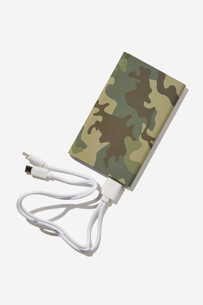 Printed Charge It Charger, CAMO