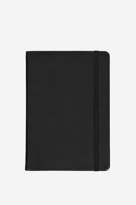A5 Buffalo Journal, BLACK