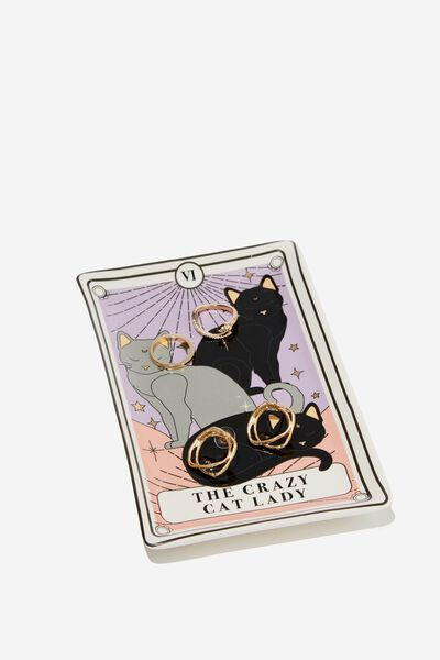 Novelty Trinket Tray, TAROT CARD