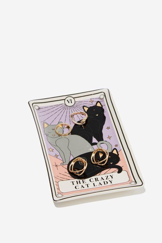 Novelty Trinket Tray, TAROT CARD